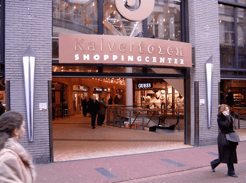 Shopping De Kalvertoren em Amsterdã