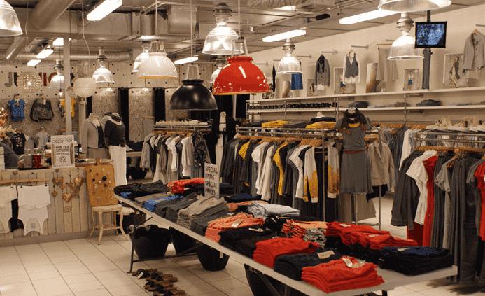 Lojas de roupas em Amsterdã
