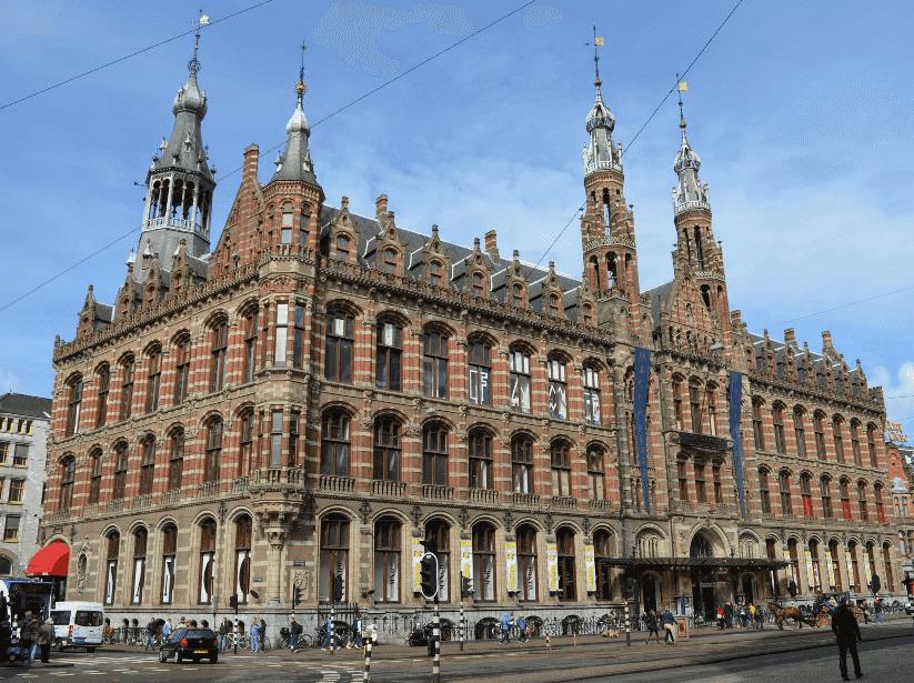 Shopping Magna Plaza em Amsterdã