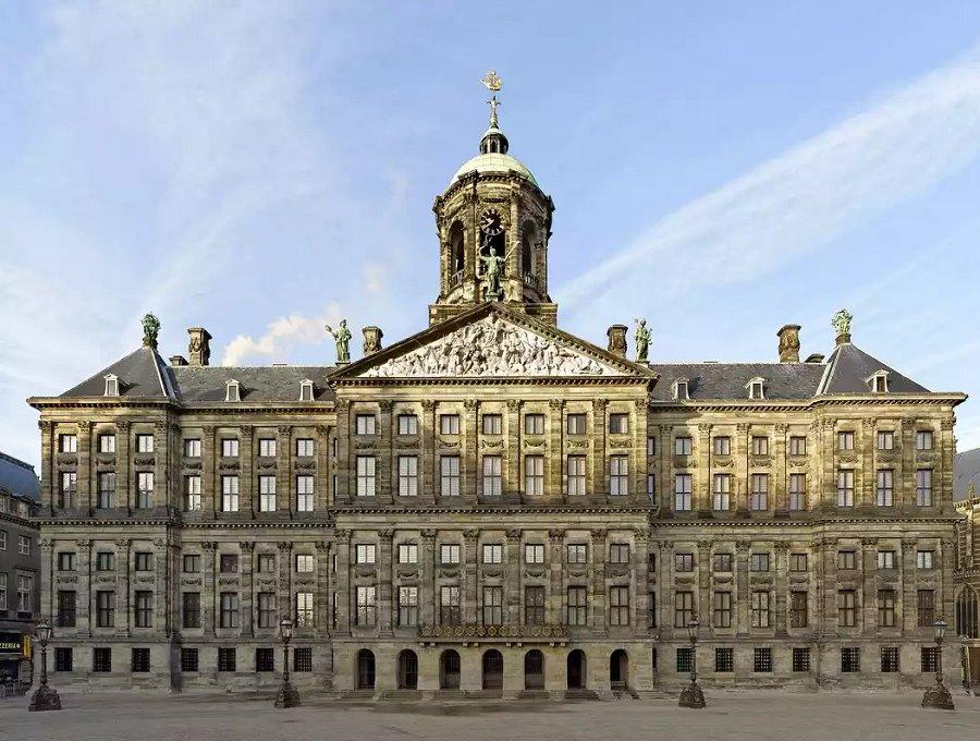 Resultado de imagem para palácio da Holanda, Amsterdã
