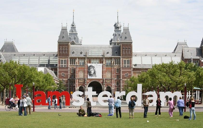 Fotos no Letreiro I Amsterdam