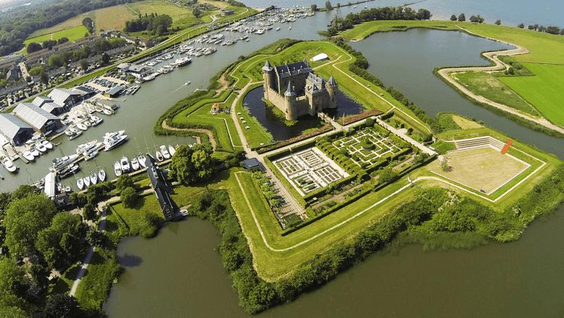 Castelo Muiderslot em Amsterdã