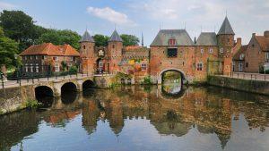 Viagem de trem de Amsterdã à Amersfroot