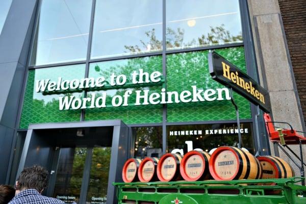 Heineken Experience em Amsterdã para curtir a lua de mel