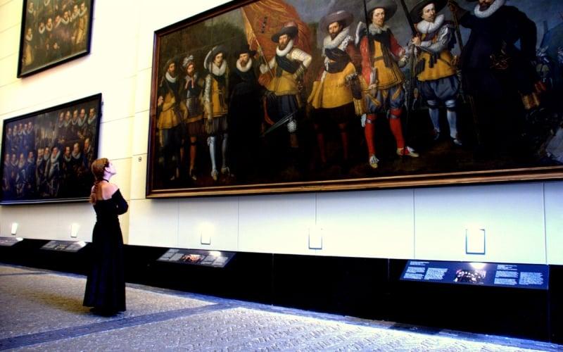 De Schuttersgalerij em Amsterdã