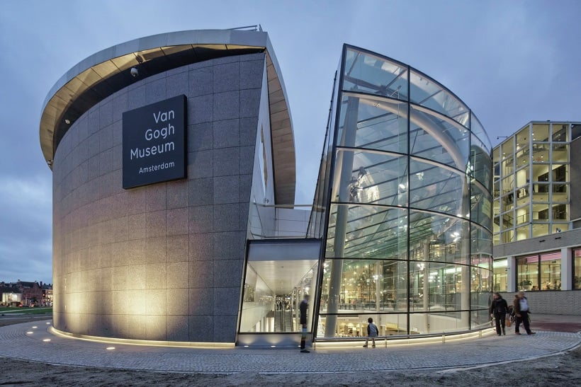 Museu Van Gogh em Amsterdã para curtir a lua de mel