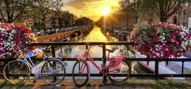 Como andar de bicicleta em Amsterdã e na Holanda
