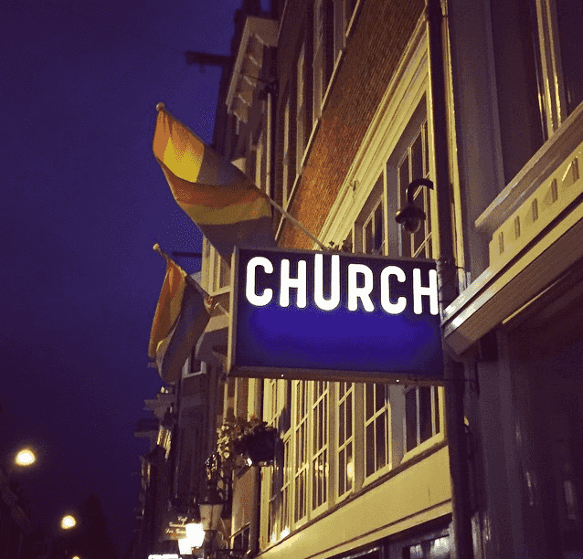 Club Church em Amsterdã