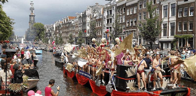 Lugares gay e GLS em Amsterdã