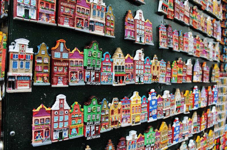 Onde comprar lembrancinhas e souvenirs em Amsterdã