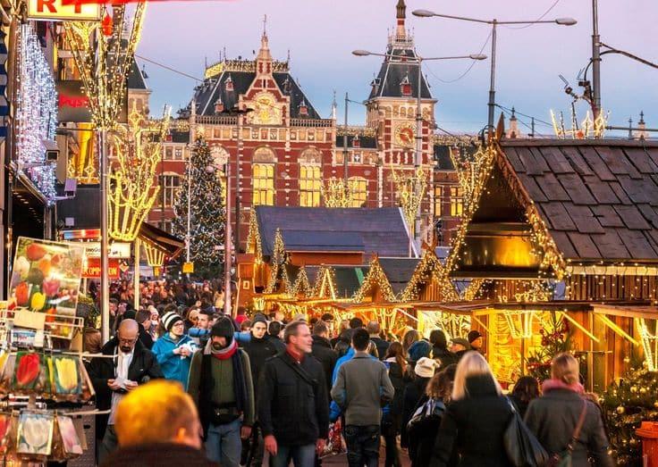 Natal em Amsterdã