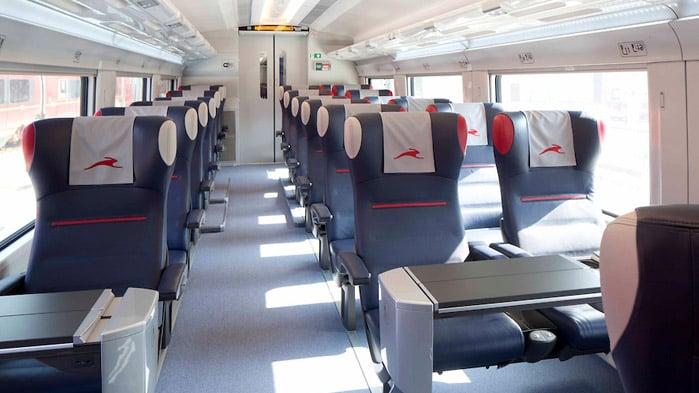 Andar de trem em Amsterdã