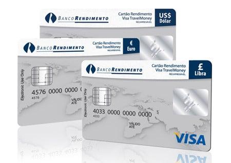 Cartão Pré Pago da Cotação
