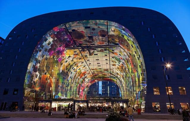 Pontos turísticos em Roterdã