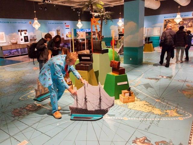 Acervo interativo do Museu Marítimo de Roterdã