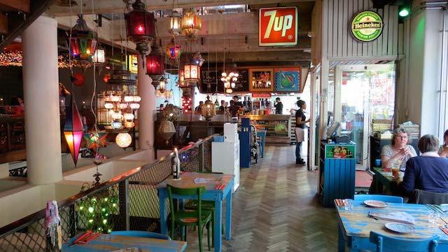 Restaurante Bazar em Roterdã
