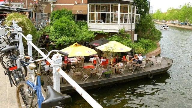 Restaurante-Café Soif em Roterdã
