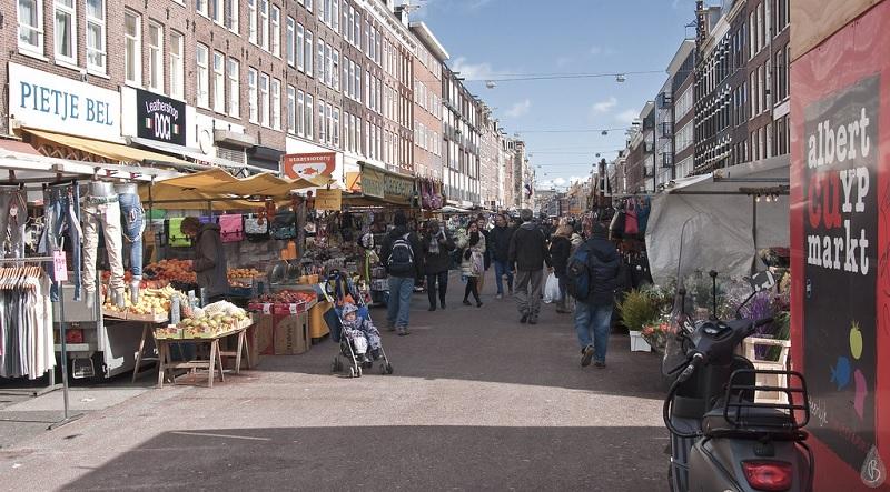 Albert Cuyp Market em Amsterdã