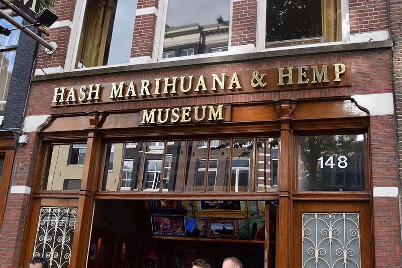 Hash Marihuana & Hemp Museum em Amsterdã