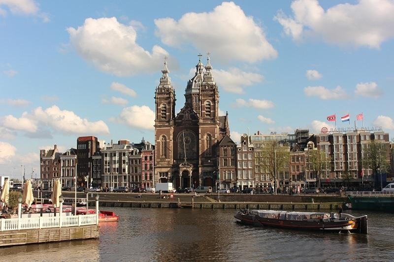 Igreja de San Nicolas em Amsterdã