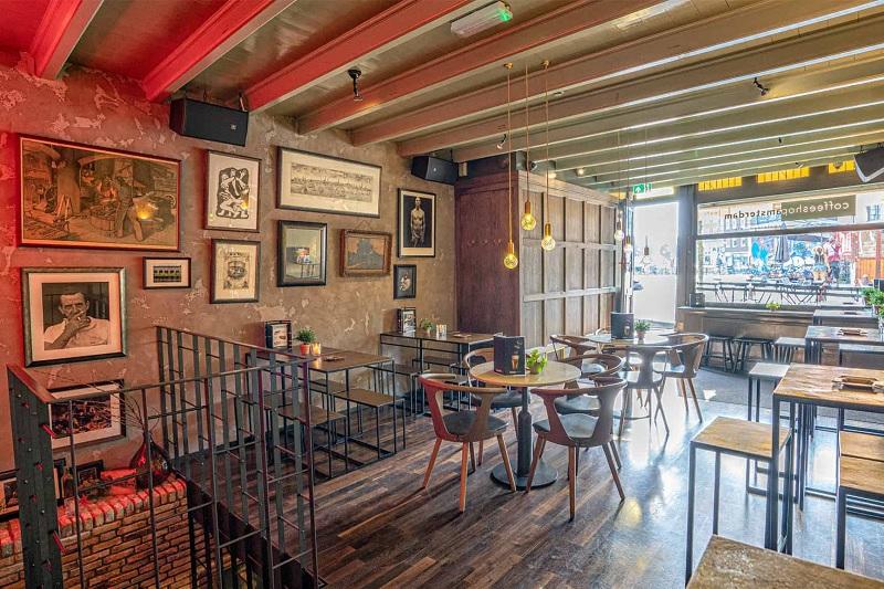 Melhores cafeterias em Amsterdã
